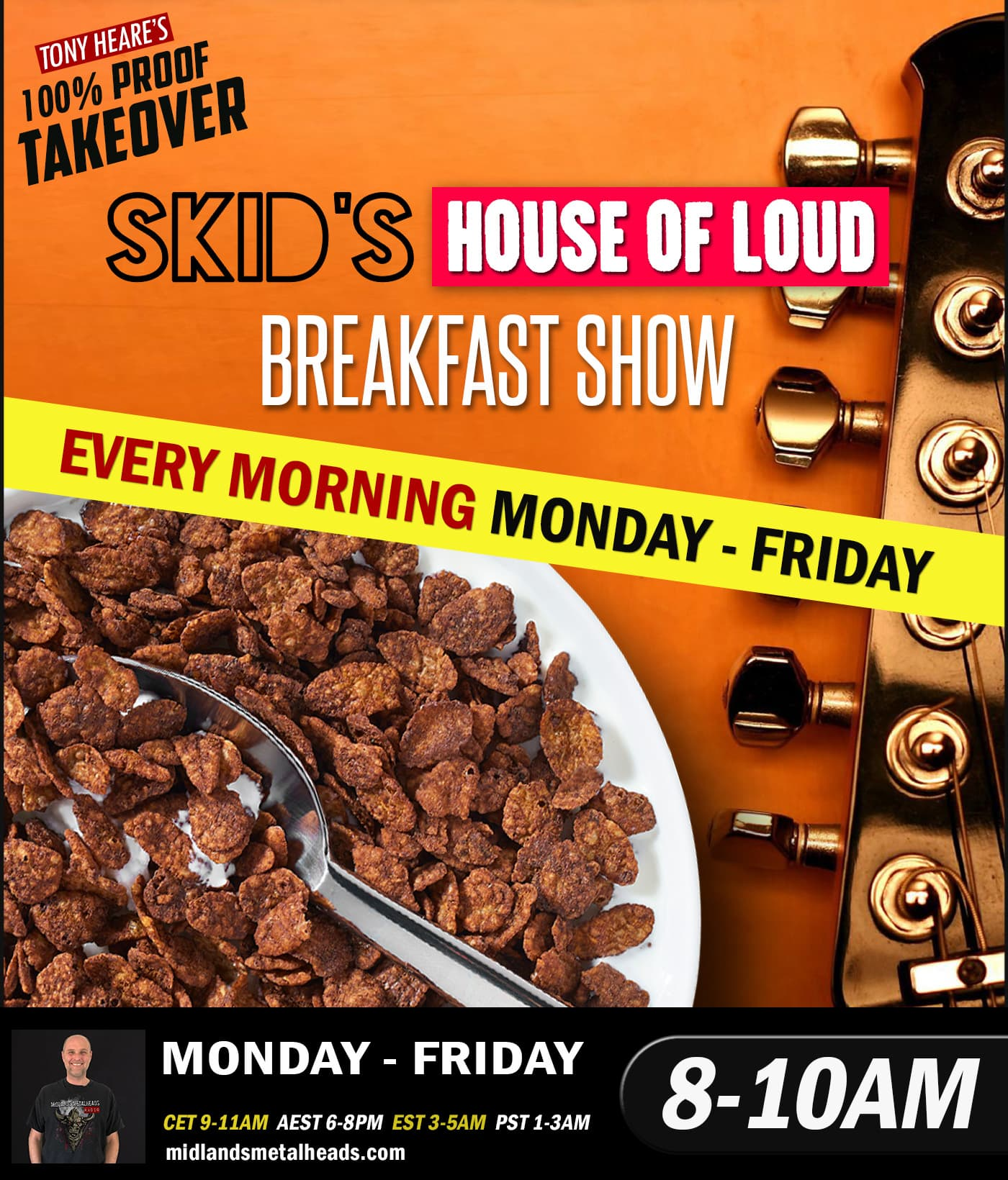 8 Pst To Aest the breakfast show 28.03.19 - skid special