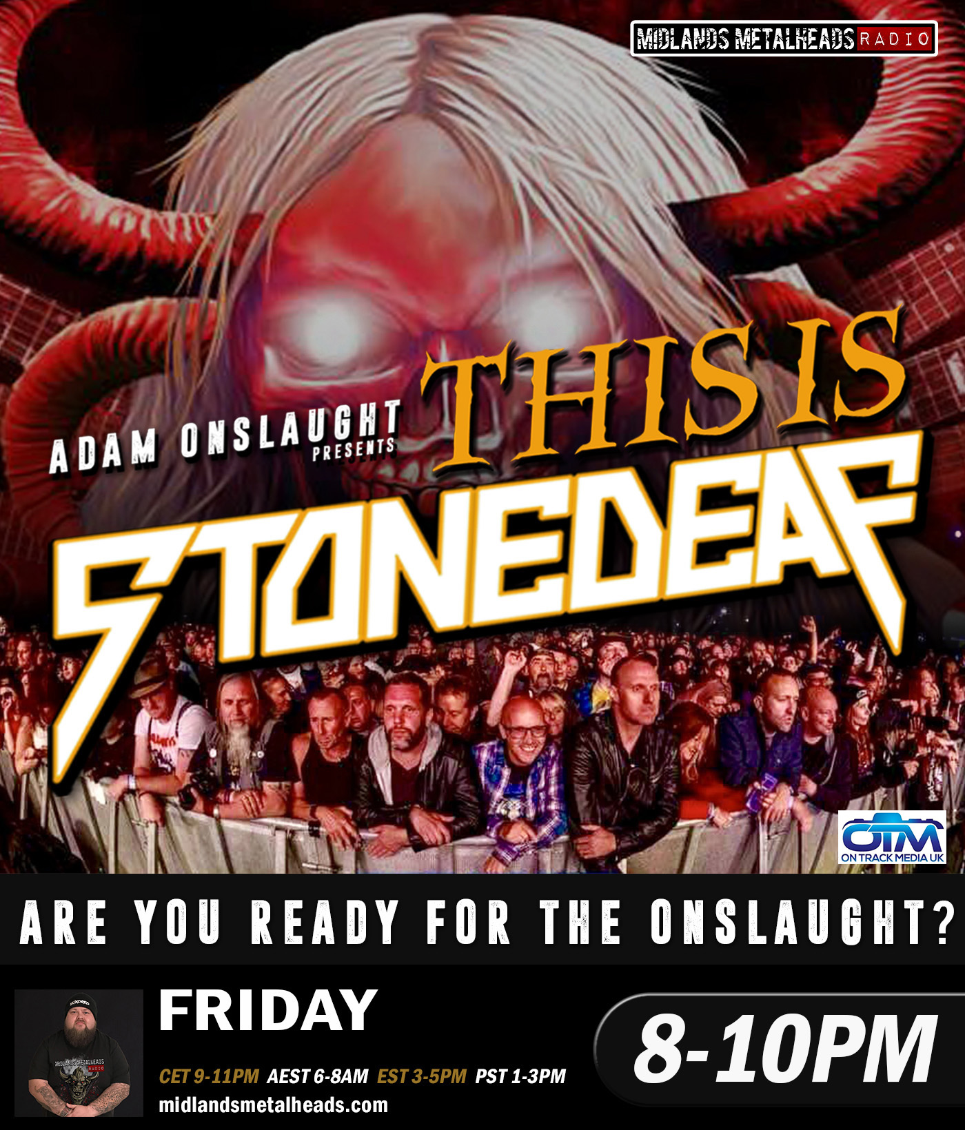 8 Pst To Aest this is stonedeaf 19th april 2019
